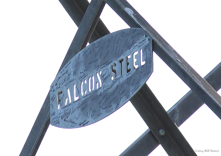 10-Falcon Steel Eagle Tower